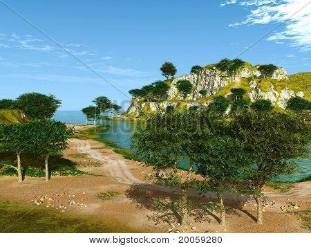 lagune by the sea