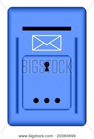 Blue Mailbox.