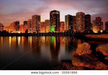 Abu Dhabi Skyline 1