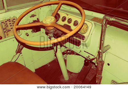 1951 GM Bus - Driver Seat