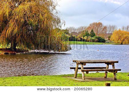 Idyllic picnic site