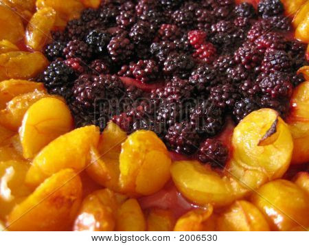 Blackberry And Plum Pie