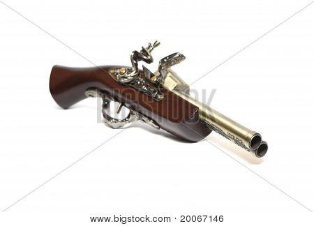 Old Duuble-barrelled Pistol