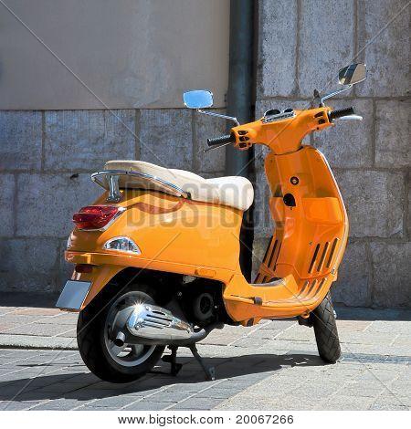 Vintage, Italian Scooter Vespa