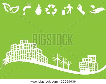 Eco Friendly Green City