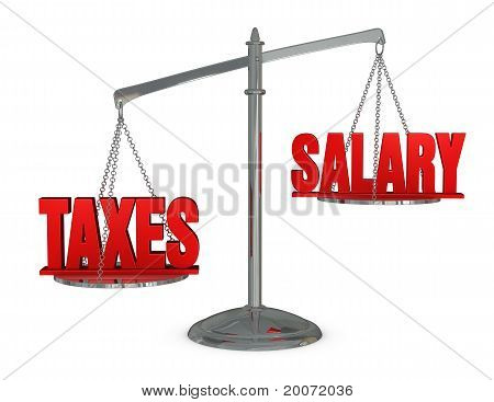 Weigh Taxes And Salary