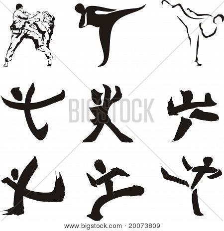 karate icons