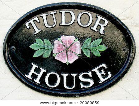 Tudor House Name Plate
