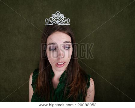 Disinterested Homecoming Queen