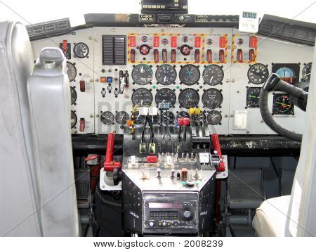 Airplane Cock Pit