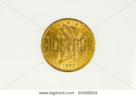 US gold eagle coin, obverse