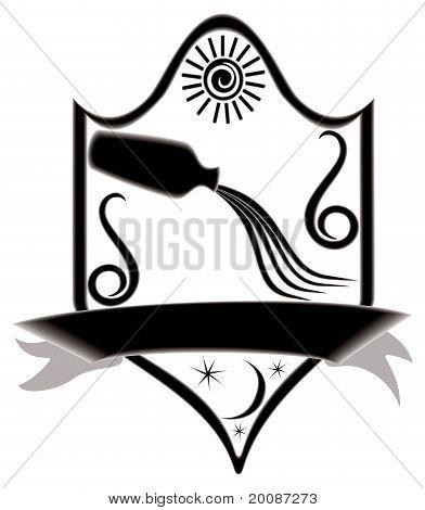 Icon Title Zodiac Aquarius.