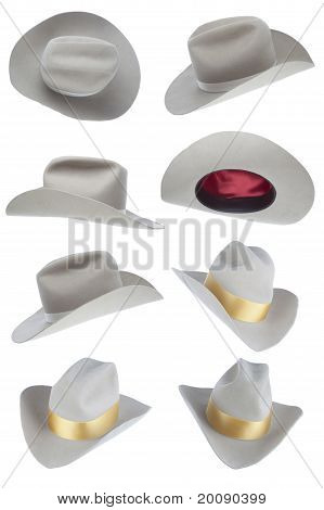 Beige Cowboy Hat Collection