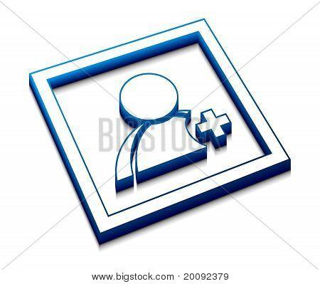 User Web Vector Icon