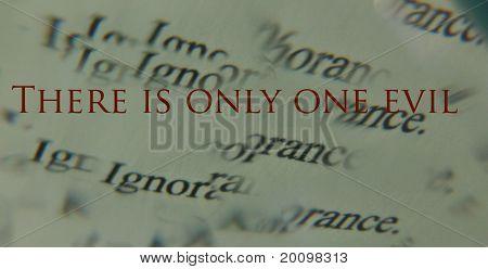 One Evil (Socrates)