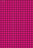 Black grid on purple background