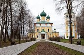 picture of uglich  - old Cathedral in the ancient town of Uglich - JPG