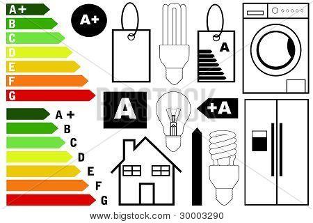 Energy efficiency elements