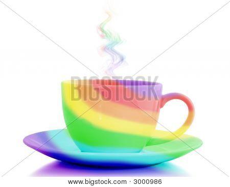 Regenbogen Cup