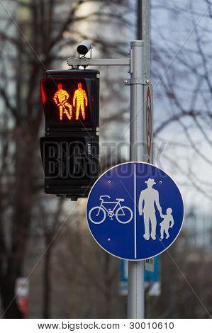 Pedestrian Stop
