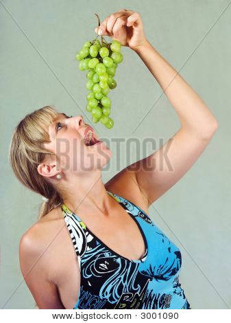 Girl And Vine