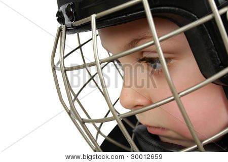 Ice Hockey Boy