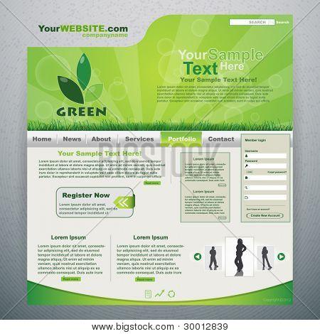Green eco website