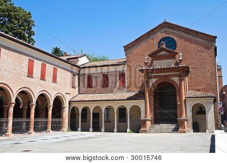 Oratory of St. Anna. Ferrara. Emilia Romagna. Italy.