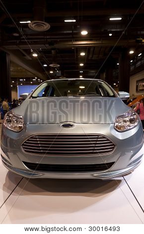 Ford Focus Electric Car Front