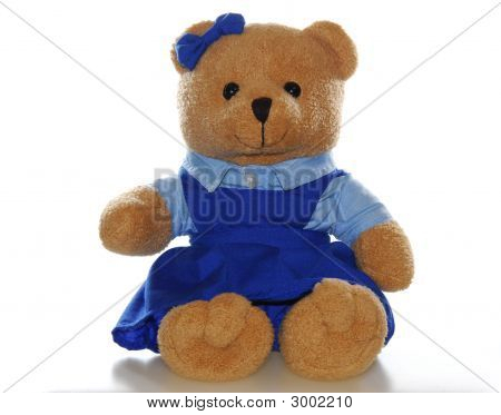 Teddy Bear In School Uniform