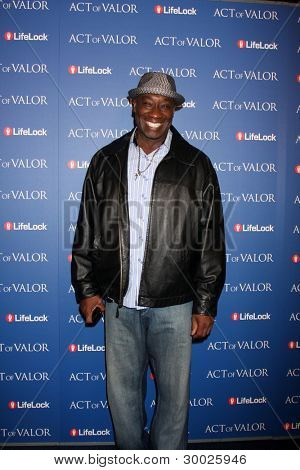 LOS ANGELES - FEB 13:  Michael Clarke Duncan arrives at the