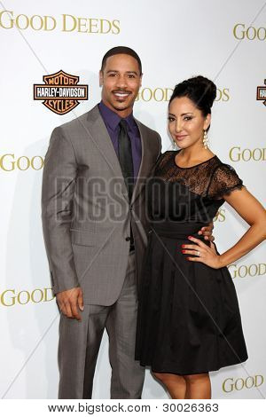 LOS ANGELES - FEB 14:  Brian White arrives at the