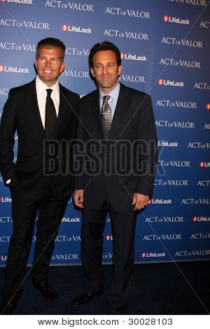 LOS ANGELES - FEB 13:  Act of Valor Directors arrives at the