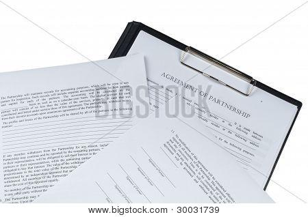 associate aggrement form