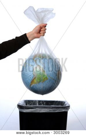 Earth In A Trash Bag
