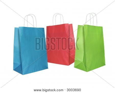 Colored Paper Bags