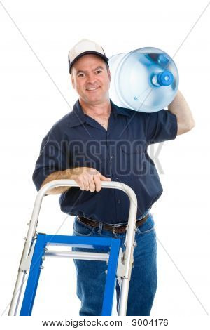 Water Delivery - Cheerful