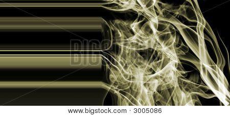 Gold Metallic Smoke