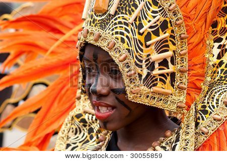Beatiful Carnival Portrait