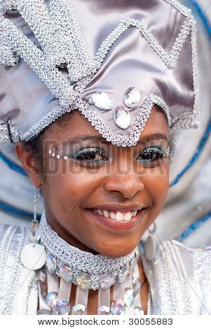 Beautiful Smiling Masquerader