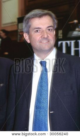 LONDON - FEBRUARY 23: Chris Huhne, Liberal Democrat party Member of Parliament for Eastleigh, attends a leadership debate on February 23, 2006 in London. He later became Secretary of State for Energy.