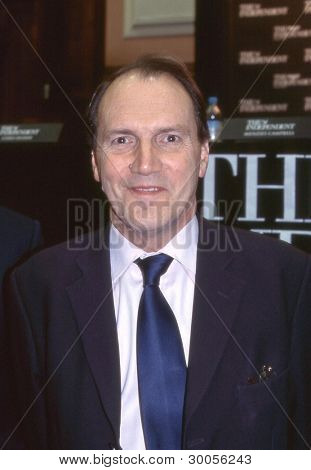 LONDON - FEBRUARY 23: Simon Hughes, Liberal Democrat party Member of Parliament for Bermondsey and Old Southwark, attends a party leadership debate on February 23, 2006 in London.