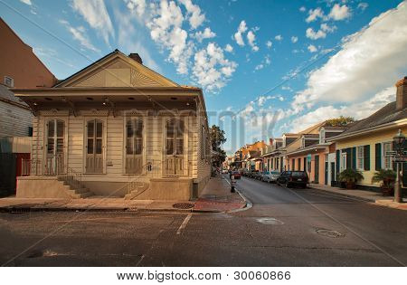 Dauphine Street, The French Quarter