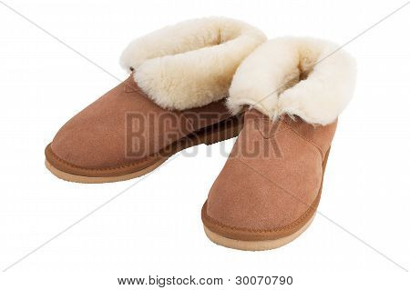 Pair Of Warm Slippers Home