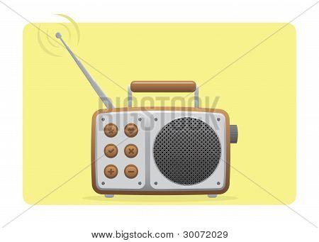 Old Radio Receiving Set