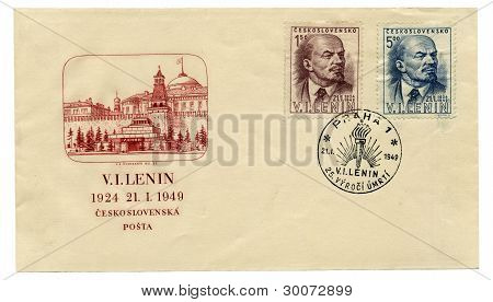 Envelope With Lenin