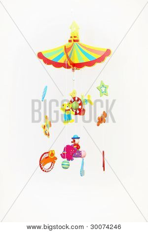 Colourful Hanging Toy Mobile