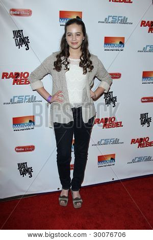 LOS ANGELES - FEB 15:  Mary Mouser arrives at the