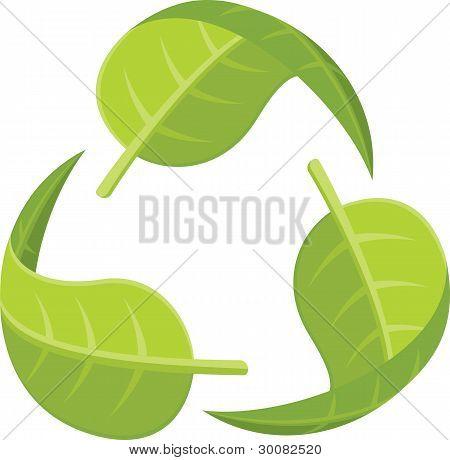 Leaf Recycle Symbol