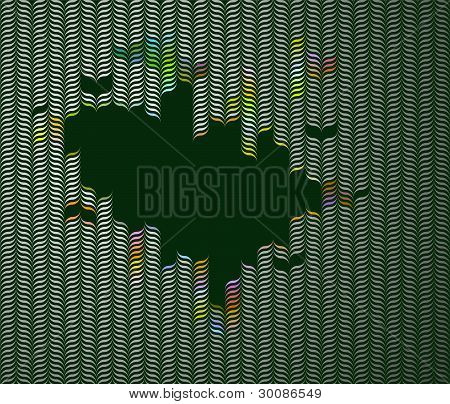 Retro Optical Illusion Background